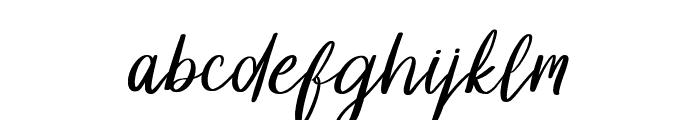 Dollyn Script DEMO Regular Font LOWERCASE