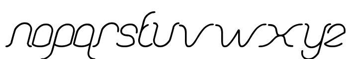 Dolphin OCEAN WAVE Font LOWERCASE