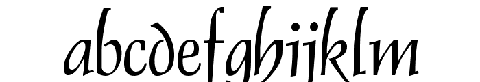 Dolphin Font LOWERCASE