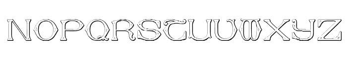 Dolphus-Mieg Alphabet Two Font UPPERCASE