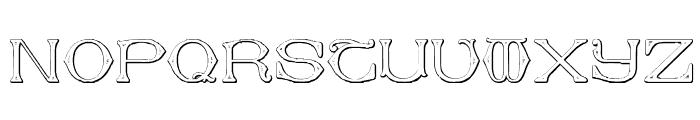 Dolphus-Mieg Alphabet Two Font LOWERCASE