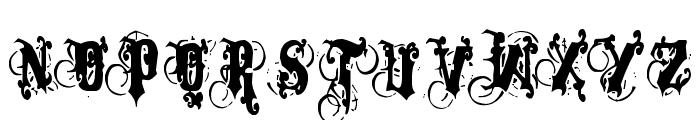 Dominatrix Font UPPERCASE