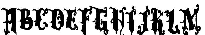 Dominatrix Font LOWERCASE