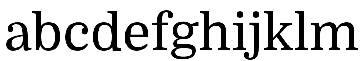 Domine Font LOWERCASE