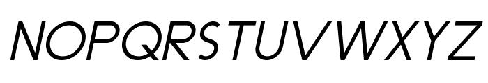 Dominik Italic Font UPPERCASE
