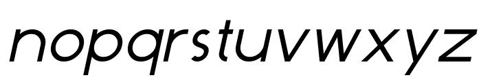 Dominik Italic Font LOWERCASE