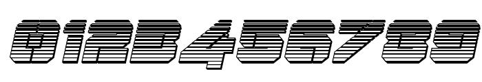 Domino Jack Chrome Italic Italic Font OTHER CHARS