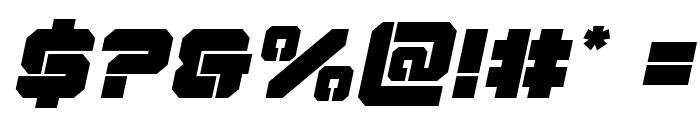 Domino Jack Italic Italic Font OTHER CHARS