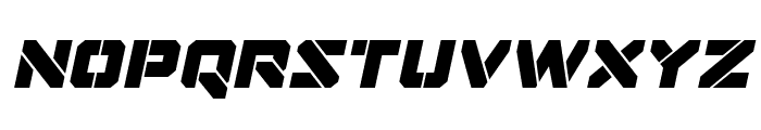 Domino Jack Italic Italic Font LOWERCASE
