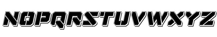 Domino Jack Punch Italic Italic Font LOWERCASE