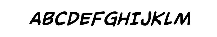 Domino Mask Bold Italic Font UPPERCASE
