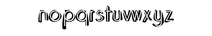 Domino-Regular Font LOWERCASE