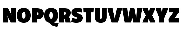 Domotika Trial Black Font UPPERCASE