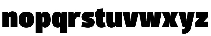 Domotika Trial Black Font LOWERCASE