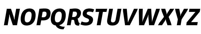 Domotika Trial Bold Italic Font UPPERCASE