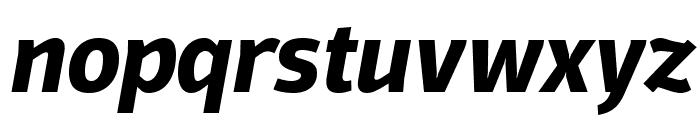 Domotika Trial Bold Italic Font LOWERCASE
