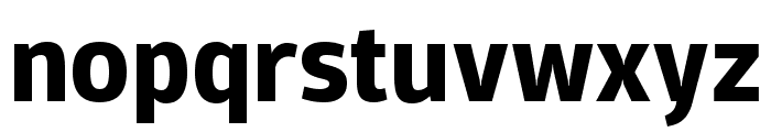 Domotika Trial Bold Font LOWERCASE