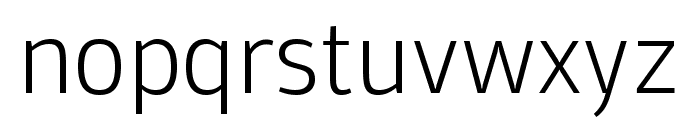 Domotika Trial ExtraLight Font LOWERCASE