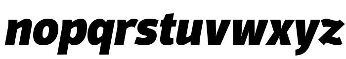 Domotika Trial Heavy Italic Font LOWERCASE