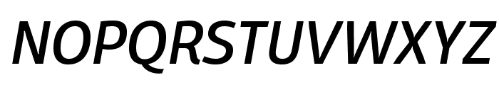 Domotika Trial Italic Font UPPERCASE