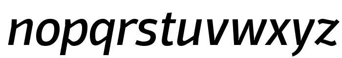 Domotika Trial Italic Font LOWERCASE