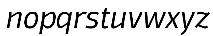 Domotika Trial Light Italic Font LOWERCASE