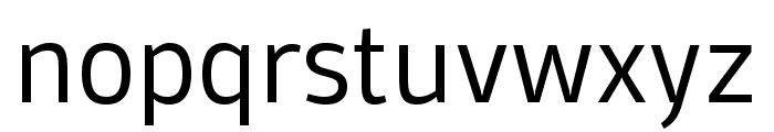 Domotika Trial Light Font LOWERCASE
