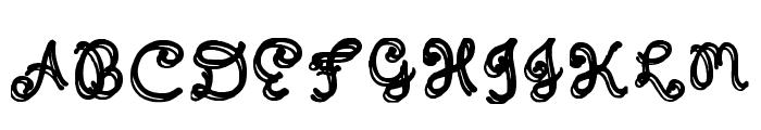 Domywriting Regular Font UPPERCASE