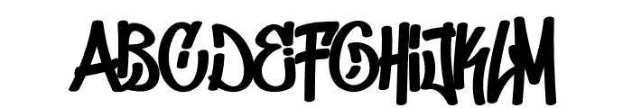 Don Graffiti Font UPPERCASE