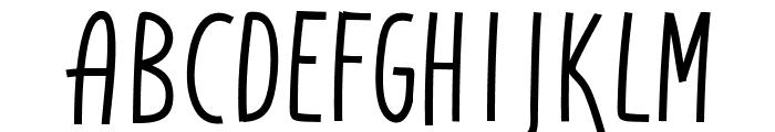DonAquarel Font LOWERCASE