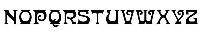 Donaldina Normal Font UPPERCASE