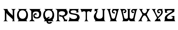 Donaldina Normal Font LOWERCASE
