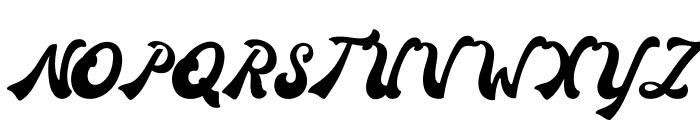 Donatello Regular Font UPPERCASE
