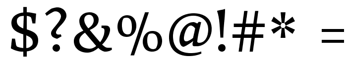 DonegalOne-Regular Font OTHER CHARS