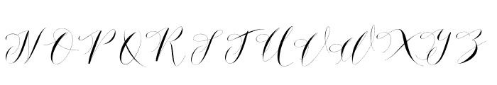 DonitaHandscriptDemo Font UPPERCASE