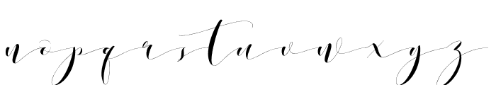 DonitaHandscriptDemo Font LOWERCASE