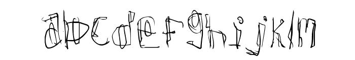 Donner Font UPPERCASE