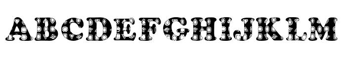 Donner'sGems Font UPPERCASE