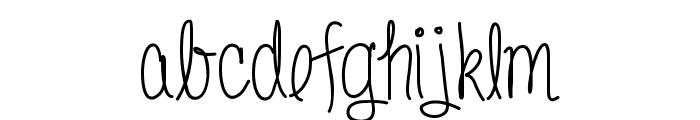 Donnia Font LOWERCASE