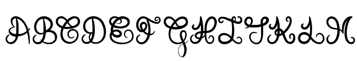 Donovan Quidaw Font UPPERCASE
