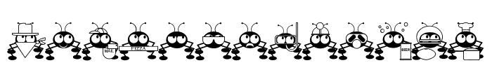 Don't Bug Me JL Font UPPERCASE