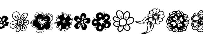 DoodFlow Font UPPERCASE