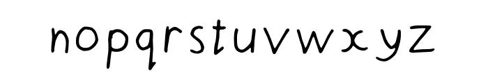 Doodle_Head Font LOWERCASE