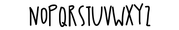 DoodlesOfFun Font LOWERCASE
