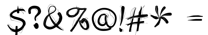 DoodlesWritten Font OTHER CHARS
