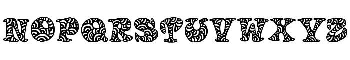 Doodletters Font UPPERCASE