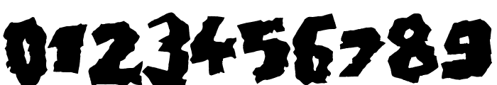 Doonga Black Font OTHER CHARS