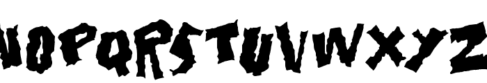 Doonga Black Font UPPERCASE