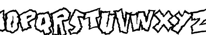 Doonga Font UPPERCASE