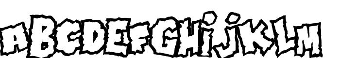 Doonga Font LOWERCASE